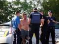 В Днепре на АЗС похитили мужчину, который плохо отремонтировал BMW