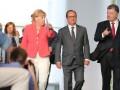 Порошенко пообещал Меркель и Олланду ускорить реформы в Украине