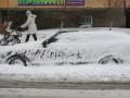В Киеве 9-балльные пробки из-за сильного снегопада