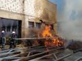 В Одесской области горел винодельческий завод