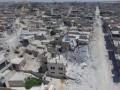 Появилось видео руин разрушенного города в Сирии