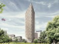 Жилье будущего: первый в мире деревянный небоскреб (ФОТО)
