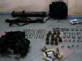 В Зайцево нашли тайник с российским оружием