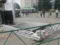 На концерте в Умани рухнула сцена, пострадали дети