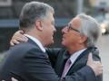 Порошенко и Юнкер договорились о встрече в Давосе