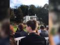 Сын судьи сыграл свадьбу в австрийском дворце - СМИ