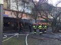 В центре Львова горел ресторан