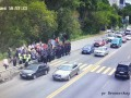 Киевская полиция восстановила движение по мосту Метро