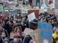 В Брюсселе тысячи школьников вышли на марш в защиту климата