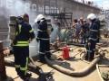 В Николаеве сообщили о горящем судне на заводе