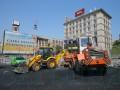 Как проходит ремонт на Майдане (фото)