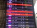 Киевский аэропорт отменил несколько рейсов из-за грозы