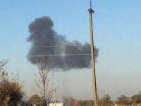 Пилоты отвели истребитель от села - очевидцы