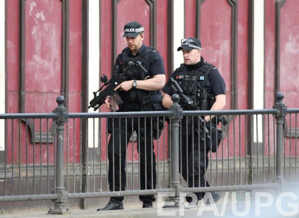 Полиция задержала подозреваемого в причастности к теракту