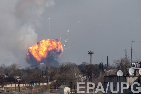 В городе проведена авиационная разведка местности для выявления очагов пожара а также инженерная разведка