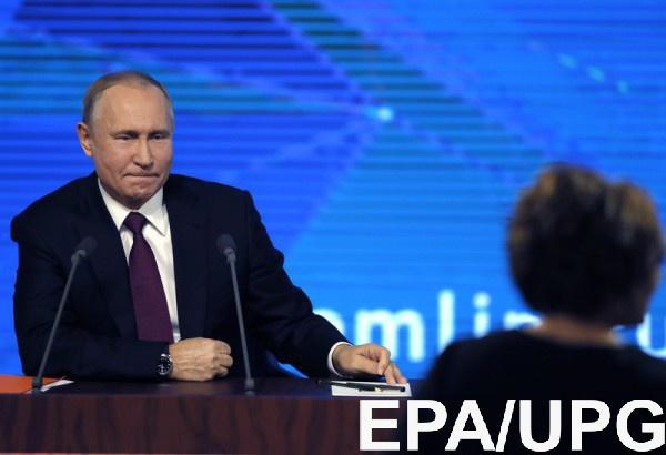 В оккупированном Крыму ждут Путина