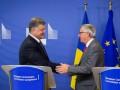 Порошенко согласовал с Юнкером действия по отмене виз для Украины