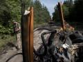 СМИ показали нелегальную переправу через Северский Донец