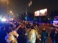 Жильцы двух многоэтажек перекрыли шоссе в Киеве