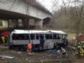 МИД выясняет, были ли в разбившемся в Бельгии автобусе украинские дети
