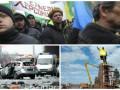День в фото: Митинг под Радой, взрыв в Берлине и демонтаж Ленина в Запорожье