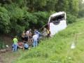 Водитель автобуса, который разбился в Черниговской области, находится в СИЗО