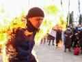 Итоги 26 февраля: Самосожжение возле ОП, рекорд вируса