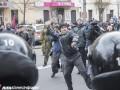 Как в Киеве крушили банки РФ и офис Ахметова: фоторепортаж