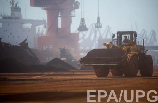 Производство железной руды