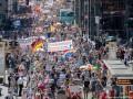Протесты в Берлине: число пострадавших полицейских выросло до 45