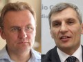 Свобода: Садовый и Кошулинский выходят во второй тур выборов мэра Львова