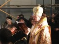 В Андреевской церкви прошла первая служба Константинопольского патриархата