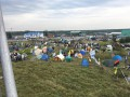 Сторонники Саакашвили разбили палаточный городок на границе с Польшей