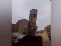 В Испании рухнула старинная церковь на глазах у прохожих