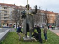 Маршал Конев, метро, раритеты и аварии: фото дня
