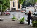 Сильный ливень затопил улицы Одессы