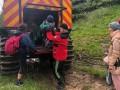 На Говерле из-за непогоды застряли туристы с детьми