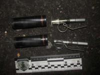 В Киеве полиция ищет мужчину, в сумке которого обнаружены гранаты