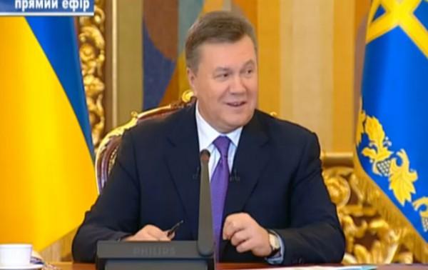 В России Януковича все еще считают президентом Украины