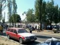 Кровь и скандал: защитники сквера на Березняках получили травмы (ФОТО)