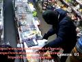 Ограбление киевского магазина попало на видео