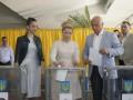 Выборы 2014: Юлия Тимошенко проголосовала (ВИДЕО)