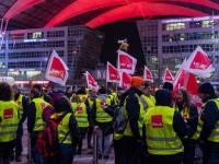 В ряде аэропортов Германии начались забастовки