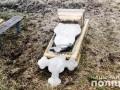 В Винницкой области два подростка повредили восемь памятников