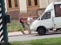 В Запорожье подрались пассажир и водитель маршрутки