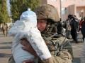 В Николаев вернулись морпехи после полутора лет службы в зоне АТО