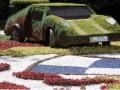 В Киеве открылась выставка авто, на которых растут цветы (ФОТО)