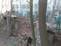 В Киеве рухнул пешеходный мост на территории института