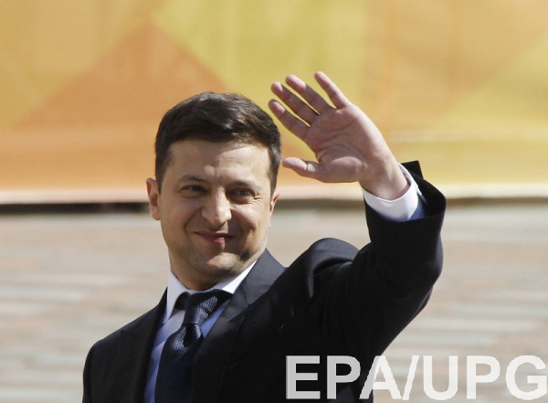 Новым президентом Украины стал Владимир Зеленский