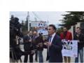 Адвокаты Грузии провели акцию в поддержку украинского адвоката Дениса Бугая